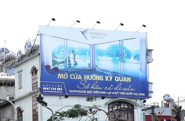 Cho thuê vị trí đặt biển quảng cáo ngoài trời