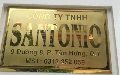 Thi công biển quảng cáo công ty tại Quảng Ninh 0934222866