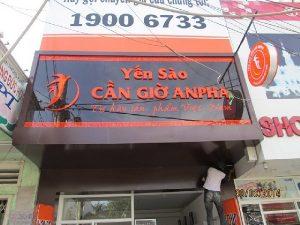 Thiết kế biển quảng cáo alu đẹp tại Cẩm Phả