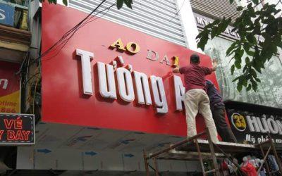 Cung cấp dịch vụ thiết kế biển hiệu quảng cáo Alu ở Quảng Ninh 0934222866