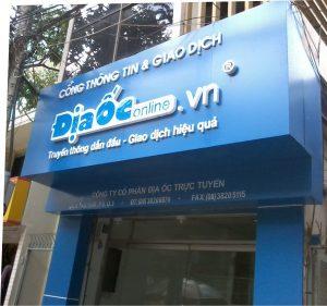 Thiết kế biển quảng cáo Aluminium đẹp tại Quảng Ninh 0934222866