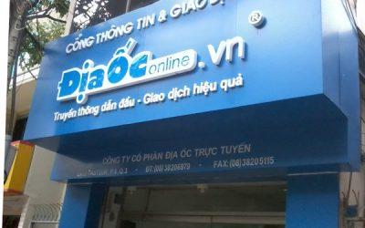 Nhận thiết kế và thi công biển hiệu alu tại Cẩm Phả
