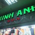Cung cấp dịch vụ thi công bảng hiệu alu tại Uông Bí