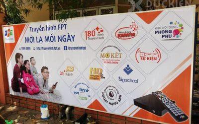 Công ty quảng cáo chuyên in phun khổ lớn tại Hạ Long – 0934222866